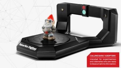 3D-Scanner Digitizer: abgetastet in 12 Minuten