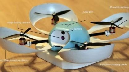 Drohne Spiri: Wert auf Aussehen gelegt