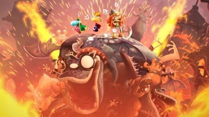 Gemeinsam gegen die fiesen Monster: Rayman Legends