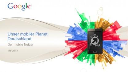 Laut Our Mobile Planet besitzen 40 Prozent der Deutschen ein Smartphone.