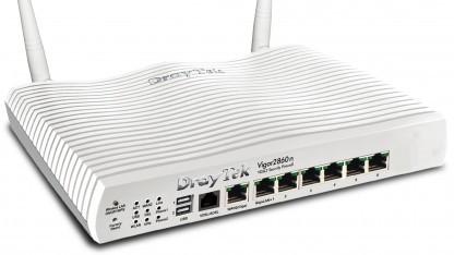 Der Vigor 2860 bietet eine günstige Möglichkeit, zentral Access Points zu verwalten.
