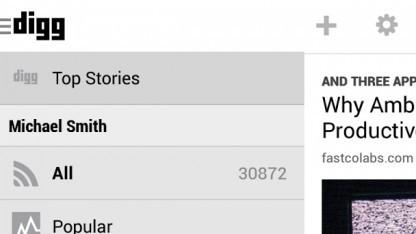 Digg Reader für Android