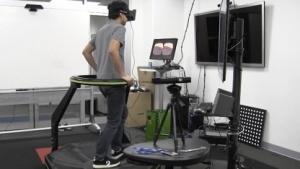 Oculus Rift und Virtuix Omni im Verbund