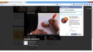 Firefox 23 mit Share-Button