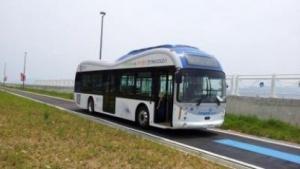 Elektrobus in Gumi: 5 bis 15 Prozent der Fahrstrecke elektrifiziert