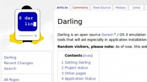 Darling will Mac-OS-X-Anwendungen unter Linux zum Laufen bringen.
