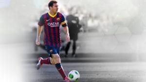 Offizielles Aushängeschild von Fifa World ist natürlich Messi.