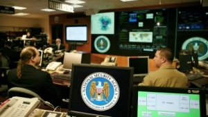 Aufnahme im Threat Operations Center der NSA in Fort Meade, Maryland, aus dem Jahr 2006