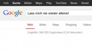Google fiel für wenige Minuten aus.
