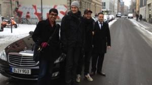 Taxi-Konkurrent: Der Limousinen-Service Uber startet mit ersten Berlin-Fahrten.