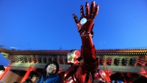PR-Event zu Iron Man 3 in Peking