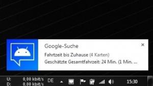Desktop Notifications zeigt Android-Benachrichtigungen auf dem PC an.
