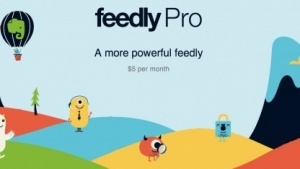 Feedly Pro kostet 5 US-Dollar im Monat.