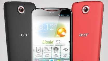 Acers Android-Smartphone Liquid S2 wird 600 Euro kosten.