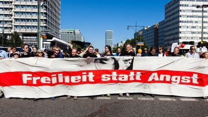 Demonstration Freiheit statt Angst 2013