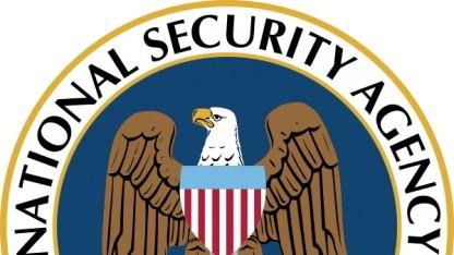 Keine Urheberrechtsverletzung: das Logo der NSA