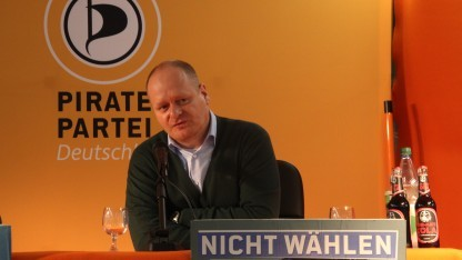 Parteichef Schlömer hofft weiter auf einen Einzug in den Bundestag.