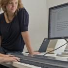 Texteingabe: Texte schreiben auf dem Klavier