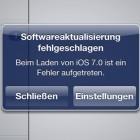 Apple: Update auf iOS 7 führt zu Download-Chaos