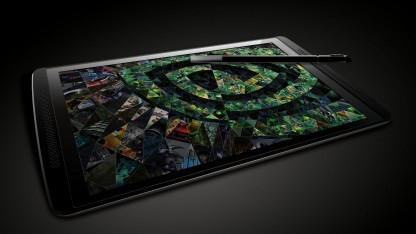 Das 7-Zoll-Tablet Tegra Note von Nvidia.