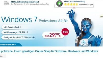 Windows 7: PC Fritz erreicht einstweilige Verfügung gegen Microsoft