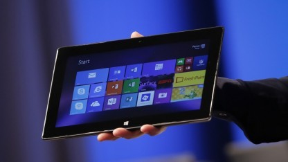 Microsoft zeigt zweite Surface-Generation.