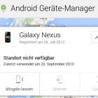 Android: Passwortsperre aus der Ferne