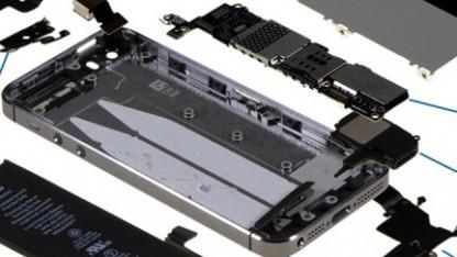 Auseinandergenommenes iPhone 5C