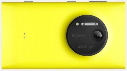 Das Lumia 1020 hatte ein  Zeiss-Objektiv.