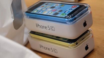 Auch das iPhone 5C hat einen Steckplatz für Nano-SIM-Karten.