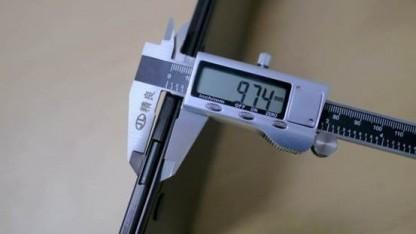 Das Thinkpad 9 Slim ist dünner als einen Zentimeter.