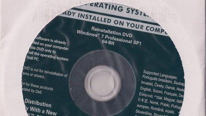 Umstrittene Recovery-DVD für Windows 7