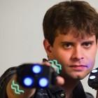 iMotion: Drei Leuchtpunkte in der Hand machen das Spiel