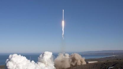 Start der Falcon 9v1.1: erstmals Start an der Westküste