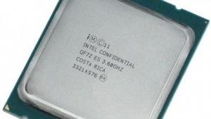 Das Muster des Core i7-4960X.