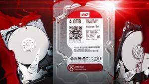 Western Digital erweitert seine NAS-Serie für Heimanwender um drei weitere Festplatten.