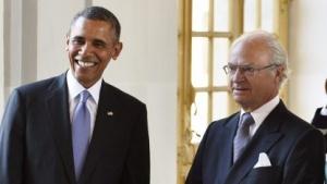 Barack Obama hat bei seinem Besuch in Schweden ein Umdenken zur NSA-Affäre angedeutet.