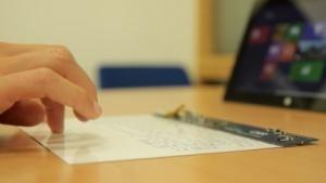 Die gedruckte Tastatur von CSR