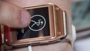 Samsungs neue Smartwatch Galaxy Gear