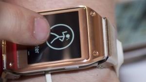 Samsungs neue Smartwatch Galaxy Gear