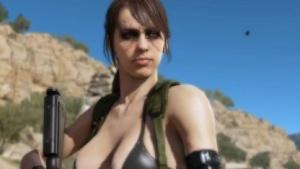 Umstrittene Scharfschützin Quiet aus Metal Gear Solid 5
