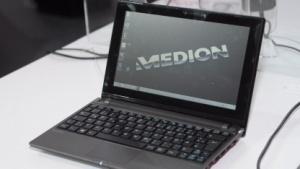 Medions günstiges 10-Zoll-Notebook mit Touchscreen