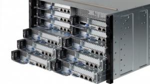 Mit Nextscale passen 2.016 CPU-Kerne in ein 19-Zoll-Rack.