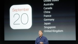 Phil Schiller von Apple am 10. September 2013