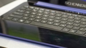 Der Nutzer sieht kein separates Touchpad.