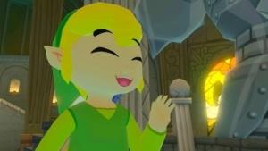 Screenshot von Link in Wind Waker HD