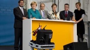 Drohnenabsturz in Dresden: mehr Inhalt als CDU-Plakate