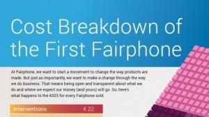 Das Fairphone-Projekt hat die Kosten für das faire Smartphone veröffentlicht.