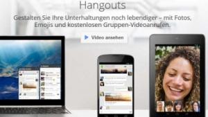 Google Talk und Hangouts machen Probleme.