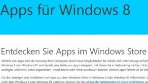 Microsoft erlaubt mehr Parallelinstallationen von Windows-8-Apps.
